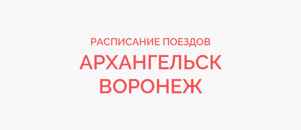 Поезд Архангельск - Воронеж
