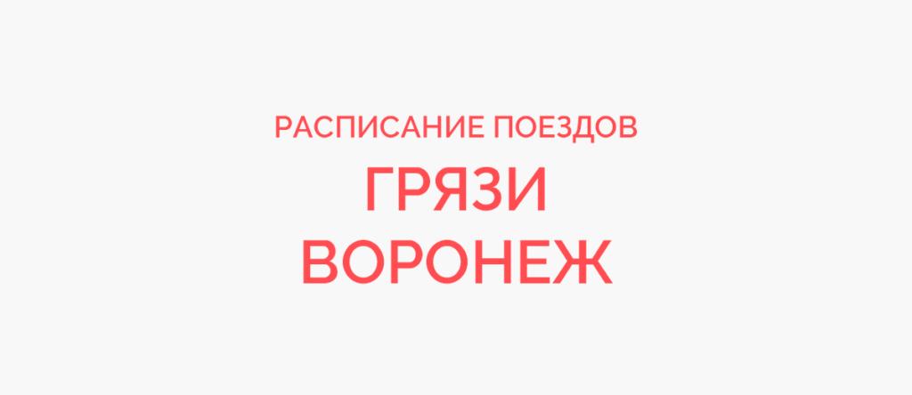 Поезд Грязи - Воронеж