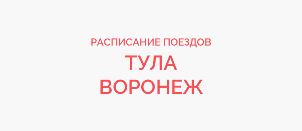 Поезд Тула - Воронеж
