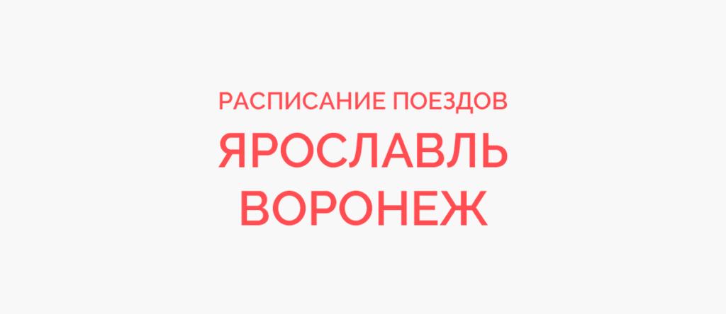Поезд Ярославль - Воронеж